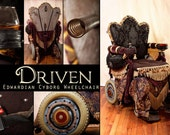 Driven, the Edwardian Cyborg steampunk electric wheelchair