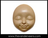 Mold No.146(Face-Child looking with closed eyes) by Veronica