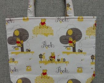 Winnie The Pooh Tote Bag/Book Bag/Preschool Tote/Go Bag