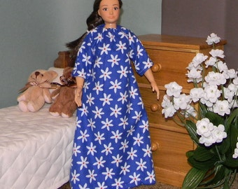 LMLYPJ-29 ) Lammily doll clothes soft flannel nighty