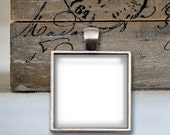 Four Templates - 1 Inch Square Tray Pendant
