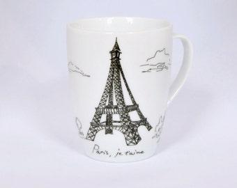 Paris, Je t'aime - coffee mug