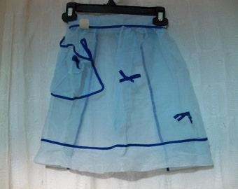 morrow mfg co Montreal see through   apron
