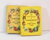 Vintage Cookbook, The Ford Treasury of Favorite Recipes from Famous Eating Places.
