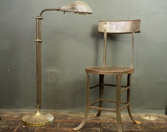 Art Nouveau Adjustable Floor Lamp