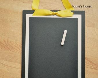 Magnetic Chalkboard - 9 x 13 magnetic chalk board