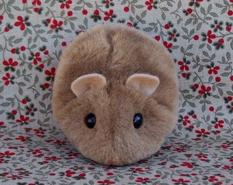 Little Brown Hamster Handmade Toy Plushie