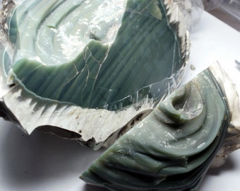 Royal Green IMPERIAL JASPER Rough Cabbing Material Stone Nodule Mexico over 3 lbs