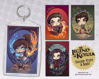 Legend of Korra Keychain Double-Sided