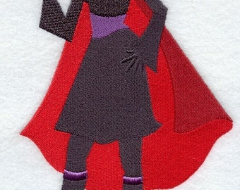 FASHIONISTA VAMPIRE- Machine Embroidery Quilt Blocks (AzEB)