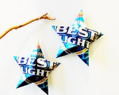 Milwaukee's Best Light Beer Miller Can,  Recycled Beer Can Ornaments