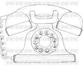 Digital Stamp Telephone