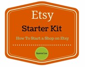How to open an Etsy Business. Etsy Shop, Marketing, Photography, Branding, eBook,