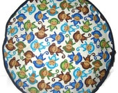 Little Monkeys Pouffe Foot Rest Floor Cushion Pouff