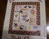 Flight of Fancy Complete Quilt Pattern Set - Used