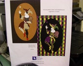 The Jester Applique Quilt Pattern - Used