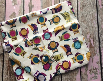 Large happy Planner pouch, pen case, planner accessory set, pen pouch, teacher planner case, custom order, made to order