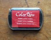 ColorBox Archival Pigment Ink Pad - Cranberry
