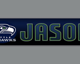 Seattle Seahawks Personalized sign