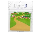 Little B Paper Adhesive Notes WILDFLOWERS