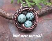 Bird Nest Tutorial, BESTSELLER Instant Download