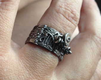 NEW! Garden Gate Ring from Elemental Adornments