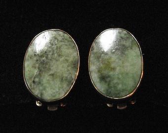 Aventurine Gold Filled Earrings by Winnard