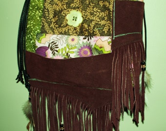 Hand Crafted Tote Bag -messenger Laptop-Book Bag - Magnetic Snaps -Awesome Sale Sale.
