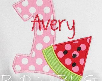 Watermelon Birthday Shirt, Girls Watermelon Birthday Shirt, Custom Watermelon Birthday Shirt, Watermelon First Birthday Shirt, Picnic Shirt