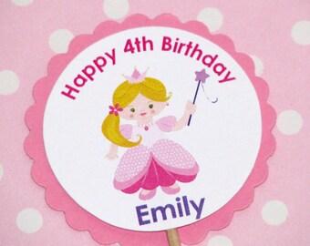 Princess Cupcake Toppers Princess Birthday Princess Party