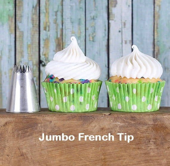 Jumbo Cake Decorating Tips : Jumbo French Frosting Tip, EXTRA LARGE Frosting Tip ...