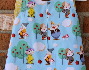 Seven Dwarfs Baby Tunic Sized 6 Months Ready to Ship