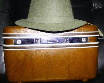 Vintage Burberry Fedora 7 1/8
