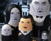 The Addams Family Matryoshka Dolls