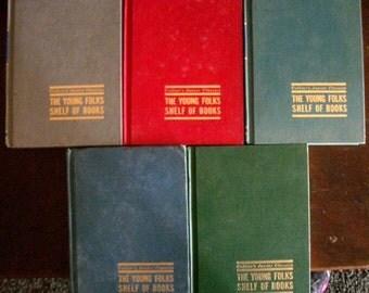 Colliers Junior Classics Book Set of 5
