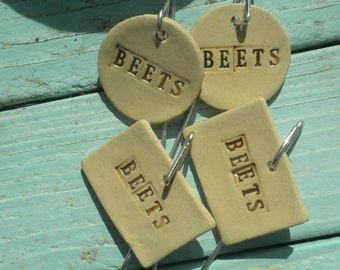 Beets Plant Markers