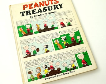 Peanuts Treasury by Charles M. Schulz 1971 Hc / Vintage Childrens Book