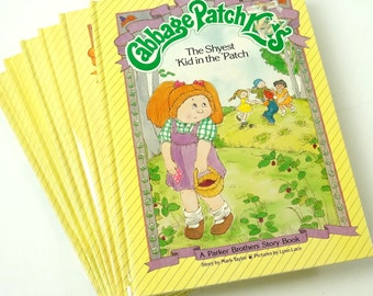 Set of 6 Cabbage Patch Kids Story Books 80s / Vtg Childrens Book
