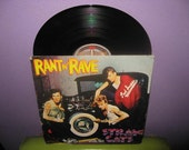 FINAL SALE Vinyl Record Album Stray Cats - Rant N' Rave Lp 1983 Rockabilly Pop Dance Swing Brian Setzer