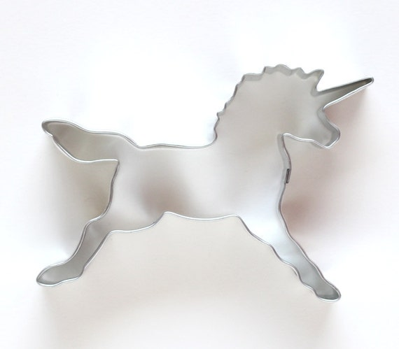 Unicorn Cookie Cutter, Unicorn Birthday Party, Metal Cookie Cutter