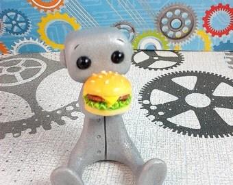 Burger Buddy Robot