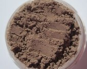 Eyebrow Matte Brown Mineral Makeup Eye Shadow/ without shimmer vegan- Paradise