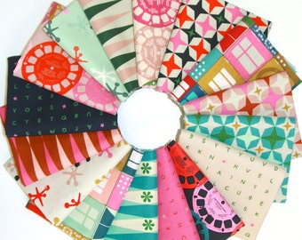 Playful Fat Quarter Bundle by Melody Miller for Cotton + Steel