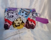 Large Disney Princess Wristlet/Wallet/Cell Phone holder - iPhone 6+, Galaxy Note