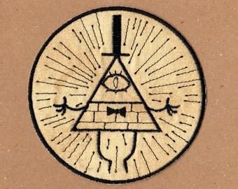 Bill Cipher Patch - Gravity Falls