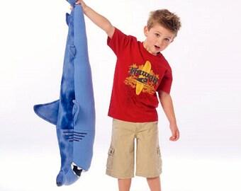 Big Sharks Pattern, Stuffed Sharks Pattern, Toy Sharks Pattern, McCall's Sewing Pattern 7103