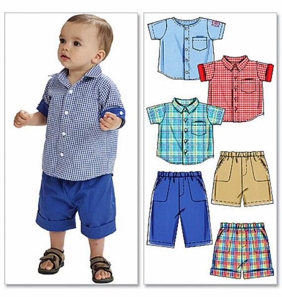 Baby Boy Shorts And Shirt Pattern Toddler Boy Shorts By