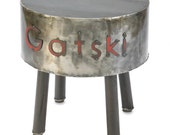 Personalized Metal Table 11th Anniversary Gift