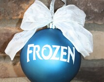 Popular Items For Frozen Ornament On Etsy