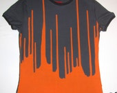 Medium ladies Inverse Dripp t-shirt BE060